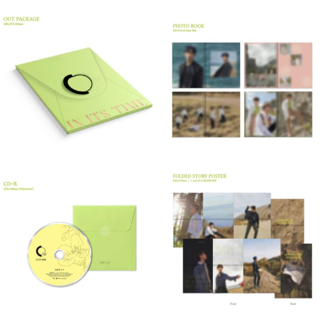 (MMT)  ONEUS 1ST SINGLE  ALBUM [IN ITS TIME] (PRE-ORDER-SEALED)