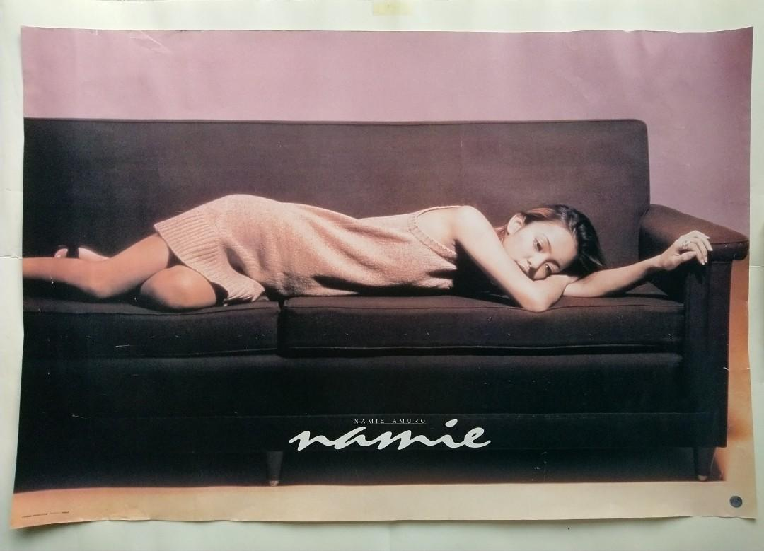 Namie Amuro(安室奈美惠)-NAMIE(Official Poster/out of printed)-FREE SHIPPING