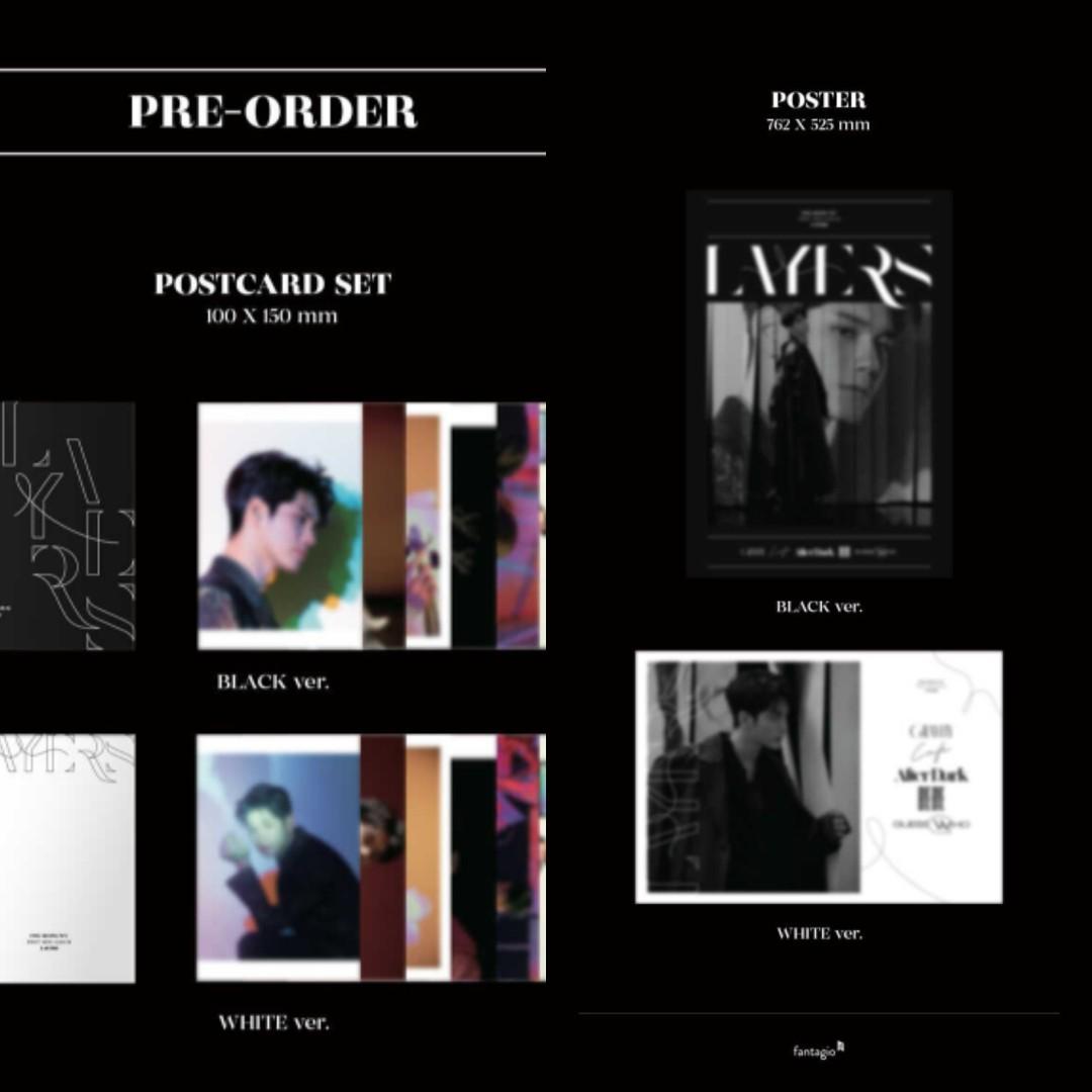 Ong Seong Wu - Mini Album Vol.1 [LAYERS] (PRE-ORDER-SEALED)