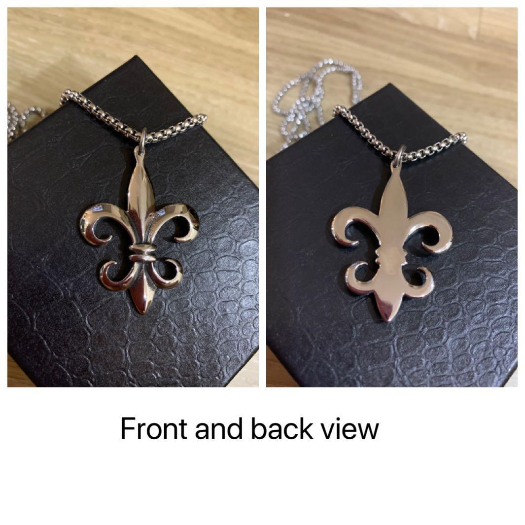 Premium chrome hearts bracelet necklace rings men's daily accessories titanium steel anti rusty