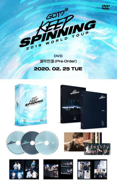[PREORDER] GOT7 2019 WORLD TOUR 'KEEP SPINNING' IN SEOUL