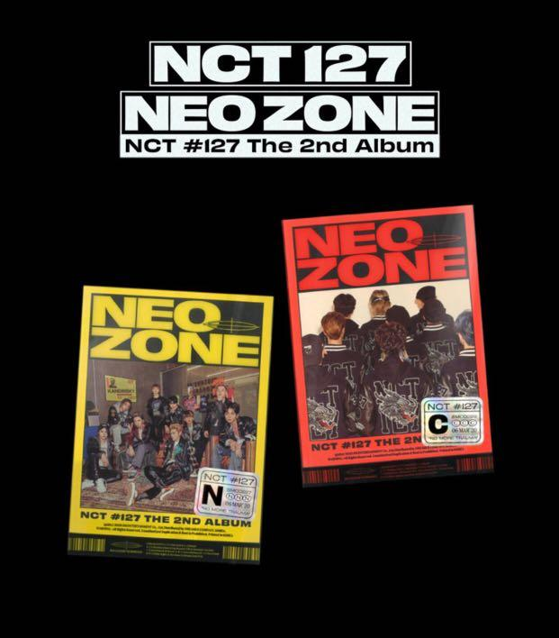 [PREORDER] NCT 127 The 2nd Album - 〖 NCT #127 NeoZone 〗