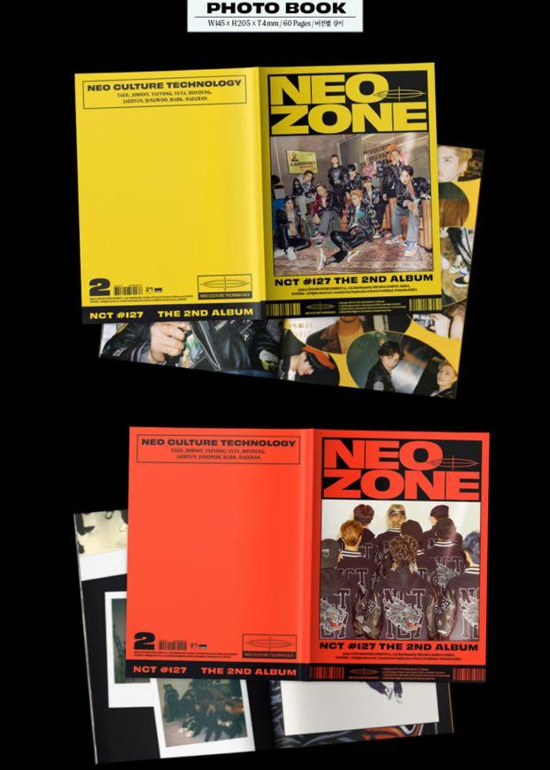 [PREORDER] NCT 127 The 2nd Album - 〖NCT #127 NeoZone〗