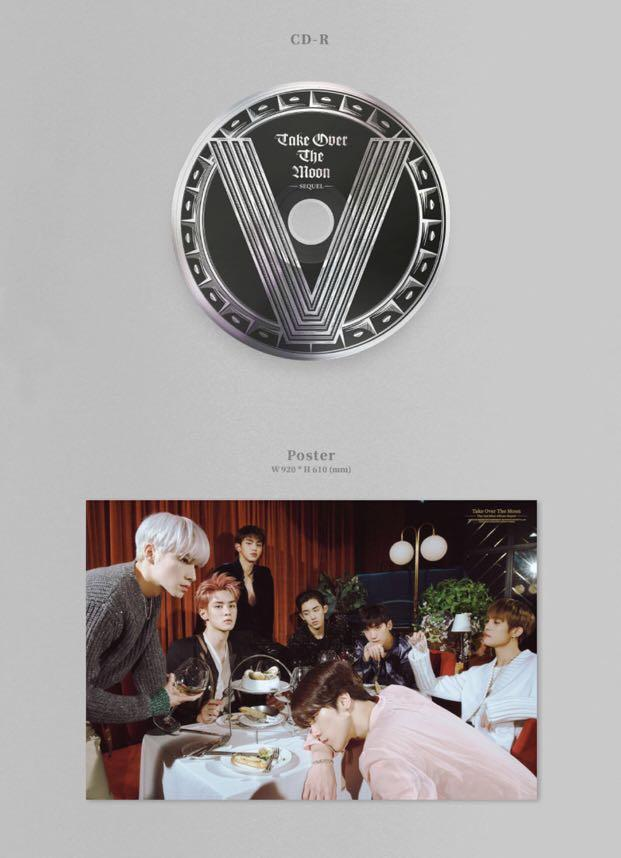 [PREORDER] WayV 2nd Mini Album Sequel - TAKE OVER THE MOON