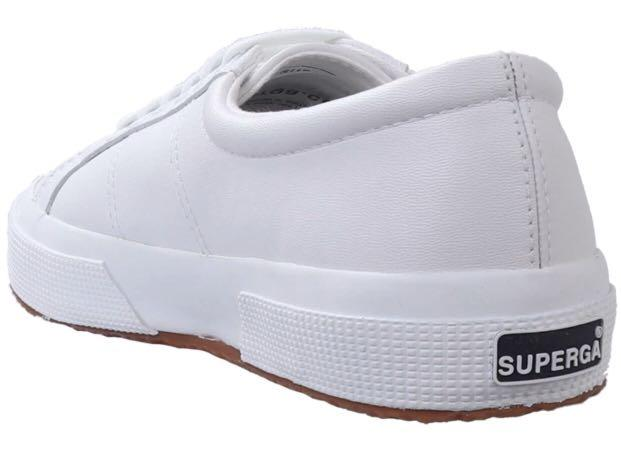 Superga 2750 Nappa Leather White, Women