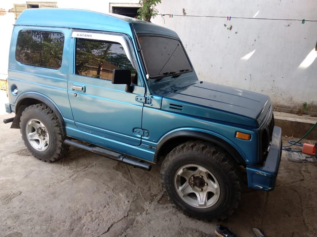Suzuki Katana GX Tahun 1991 Biru Mulus Pajak Tertib Surat Lengkap