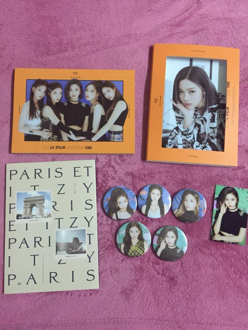Unsealed Itzy It'z Me Album Version Me + Free Gifts
