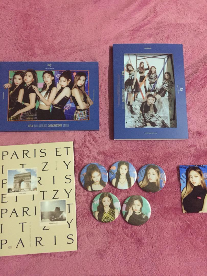 Unsealed Itzy It'z Me (Version Wannabe) + Free Gifts