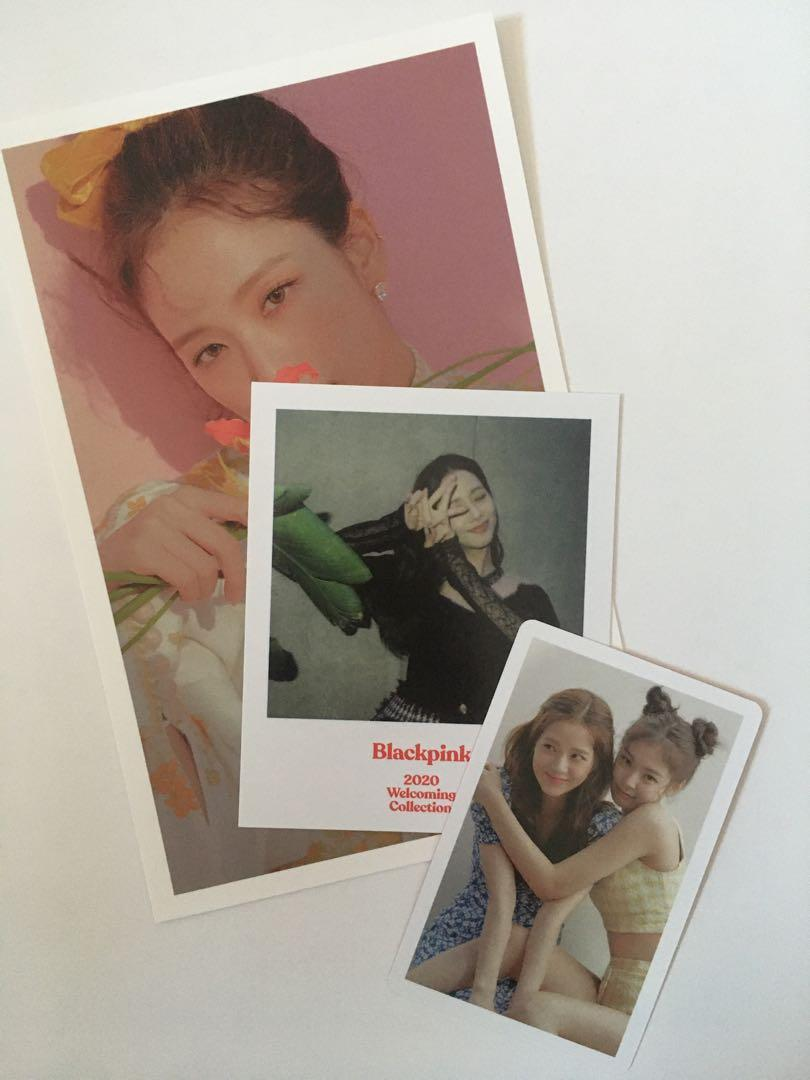 WTS BLACKPINK 2020 Welcoming Collection Jensoo set