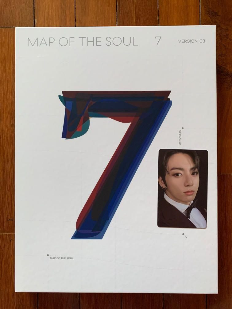 (WTS) BTS Map of The Soul: 7 Ver.3 Album with Jung Kook Photocard