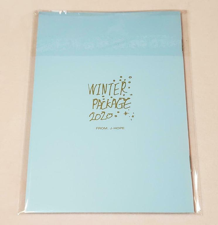 <WTS> BTS WINTER PACKAGE 2020 MINI PHOTO BOOK ONLY - J-HOPE