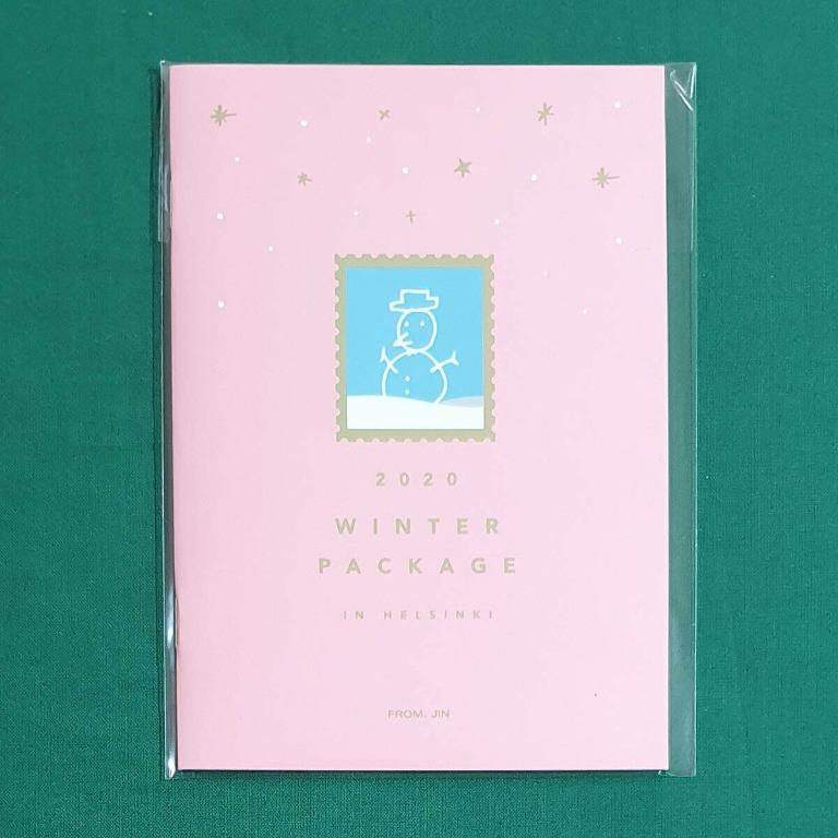 <WTS> BTS WINTER PACKAGE 2020 MINI PHOTOBOOK ONLY - JIN