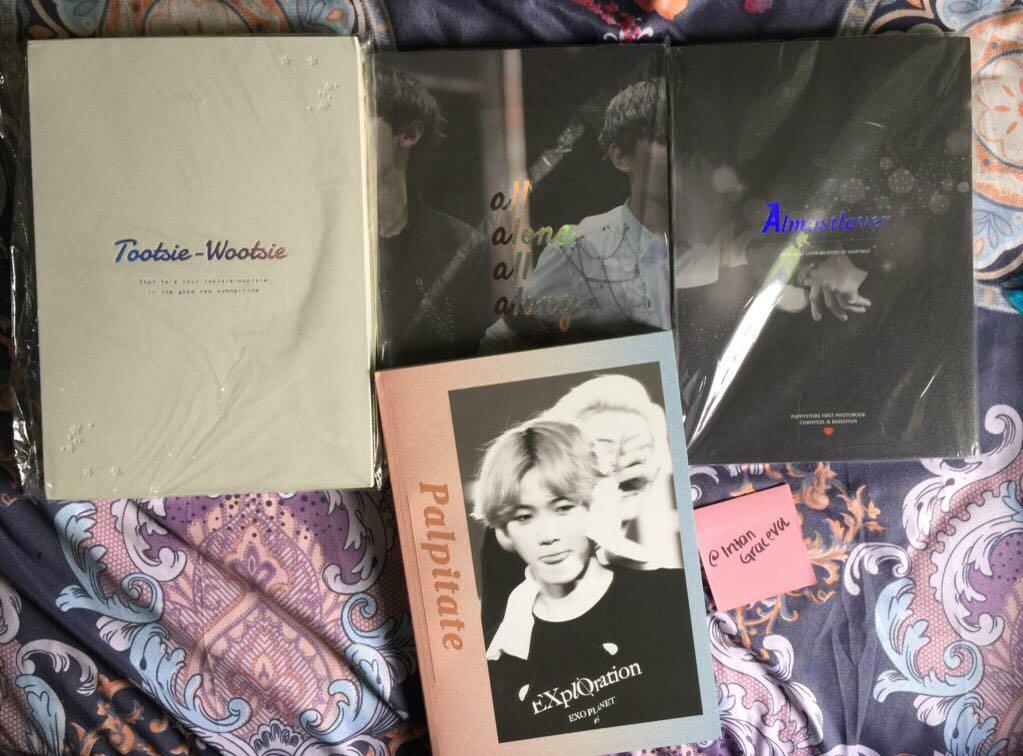 [WTS] exo chanyeol baekhyun chanbaek photobook by @/puppystore_1992