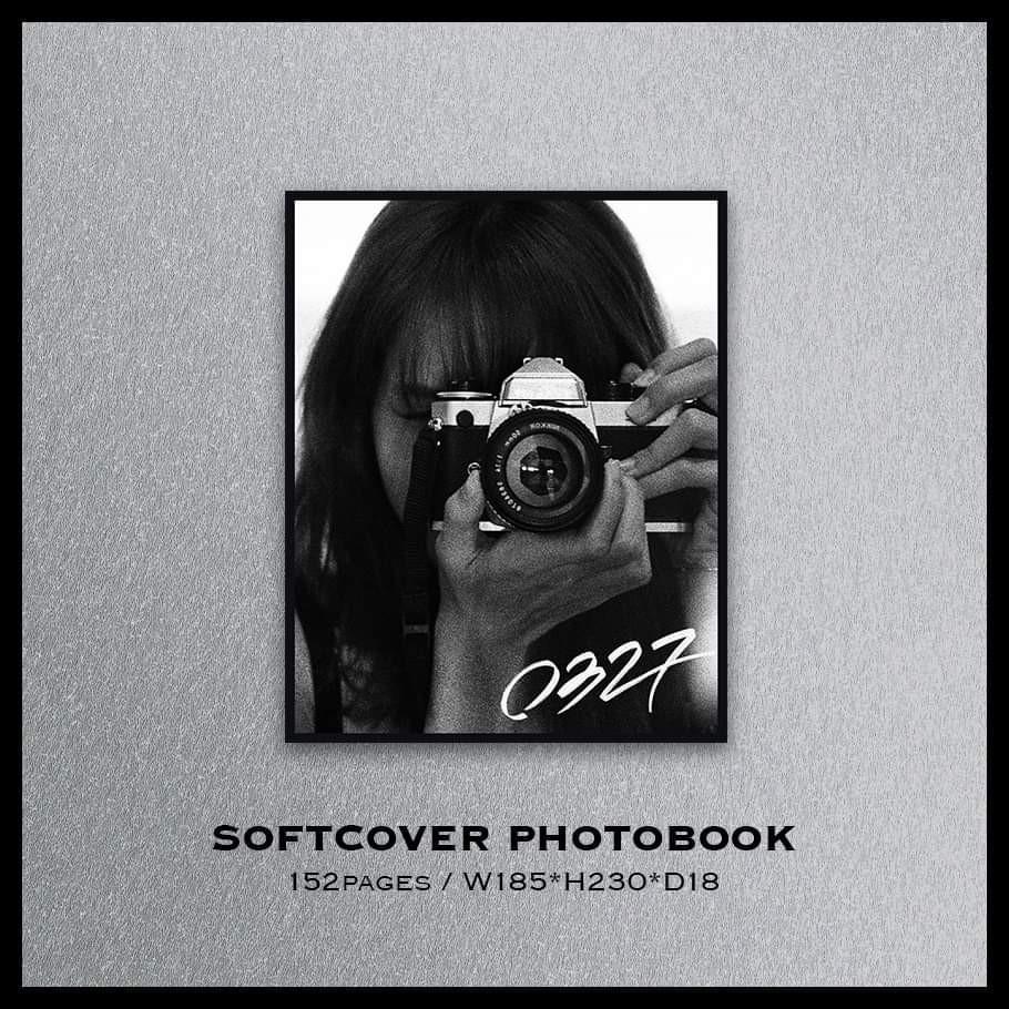 【WTT ONLY】BLACKPINK LISA OFFICIAL  PHOTOBOOK PRE ORDER BENIFT