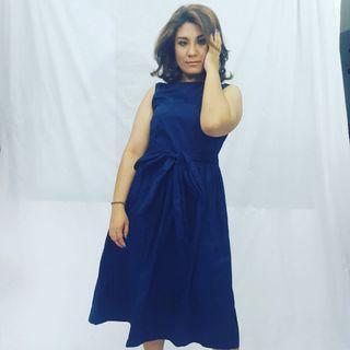 Cotton dress. Laura Ashley