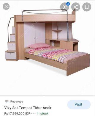 Set tempat tidur anak Informa