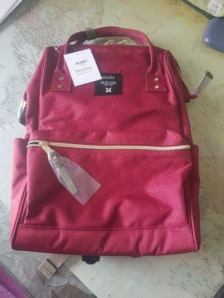 Anello Backpack ( Wine color )