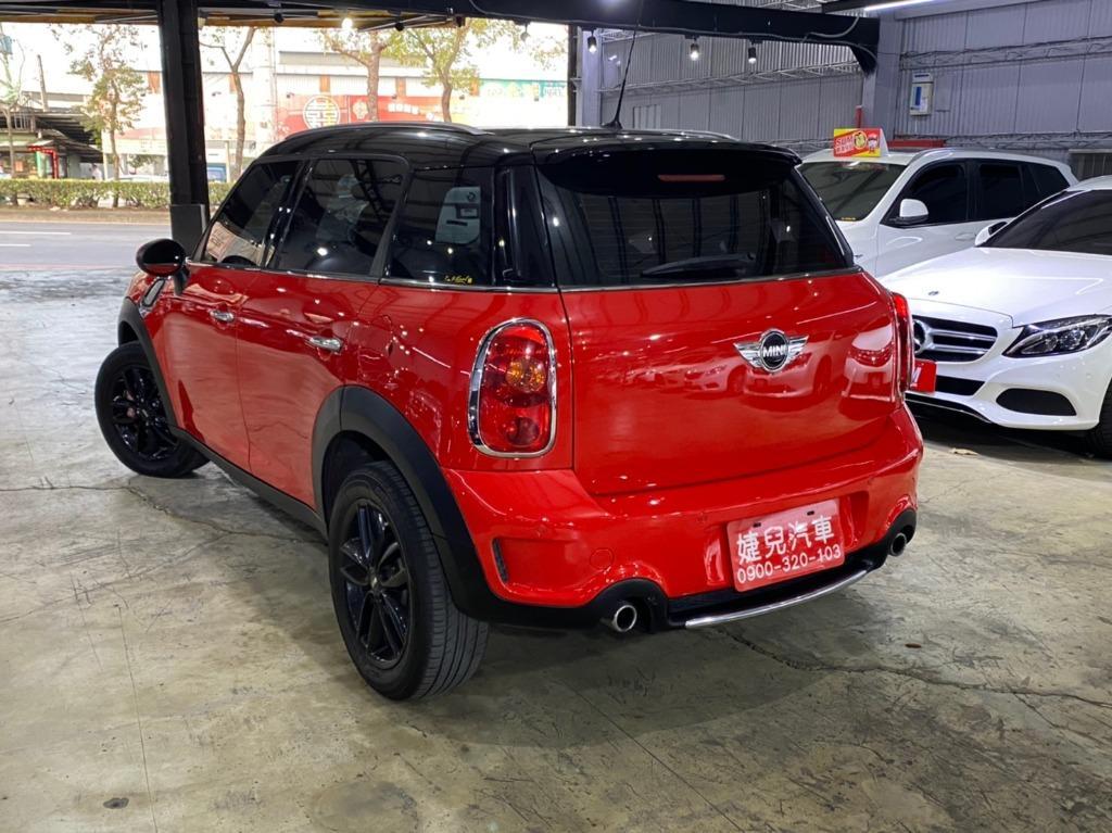 2013年 總代理Mini Countryman Cooper SD 2.0 紅黑雙色柴油特仕版
