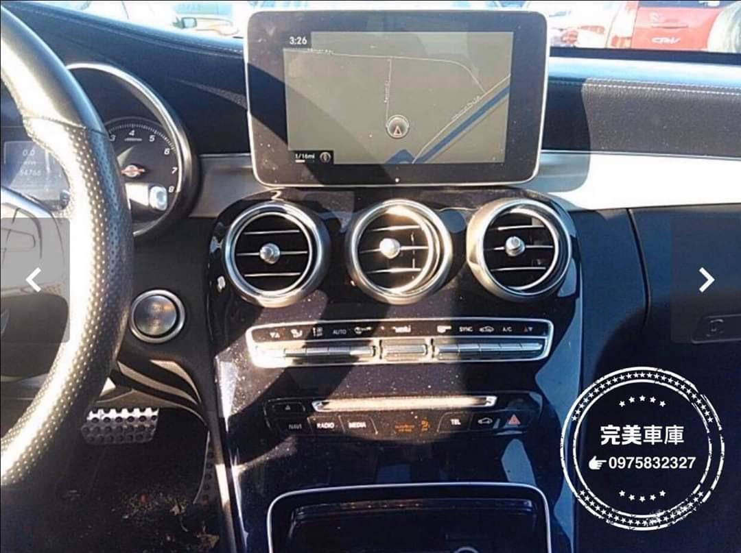 2015 C300AMG 4輪傳動(白色)