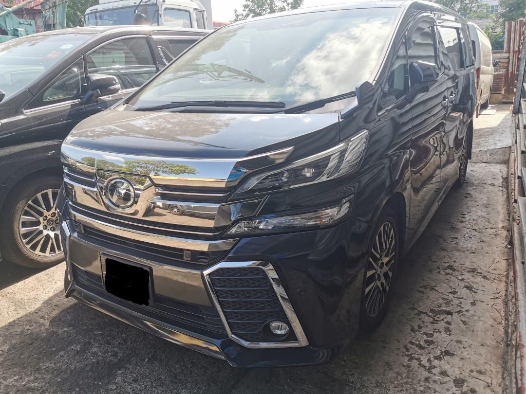 "2015 Toyota Vellfire 2.5A ZG 7 Seater for Rental (Click on ""read more"" for more details)"