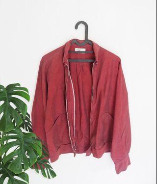 Simple Red Jacket