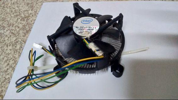 Intel 原廠CPU風扇 /775腳位/ 良品 直購價 60元