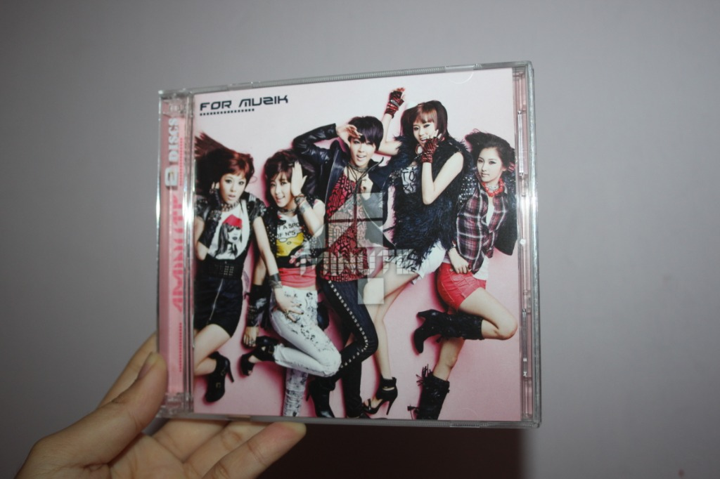 4Minute For Muzik For Asia (Special Edition) | CD+DVD | K-POP