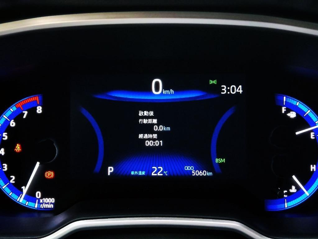 日本原裝進口小鋼炮 AURIS 知名品牌 TOYOTA 2019年 一手車 原廠保固中 頂級旗艦版 只跑5000公里 精品改裝