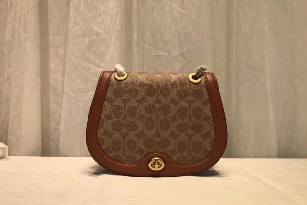 Authentic coach 84641 saddles bag women crossbody 84642 jbbbn 75577 76614