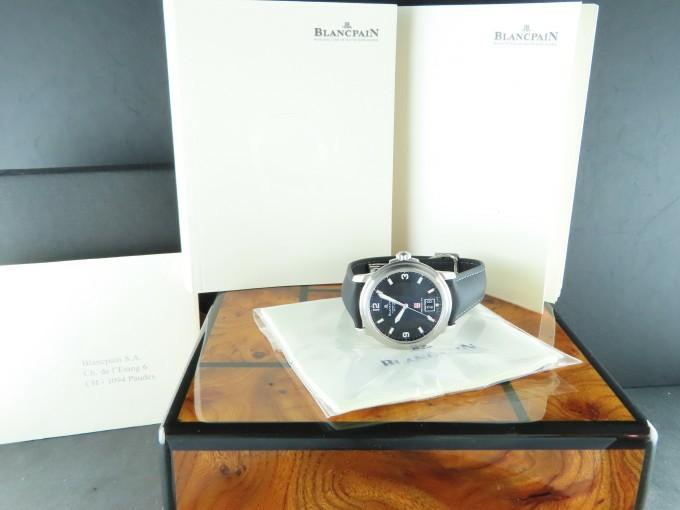 Blancpain Leman Aqua Lung Big Date Monaco Yacht Show 100 Hours Power Reserve 38 mm Limited Edition 150 Pieces