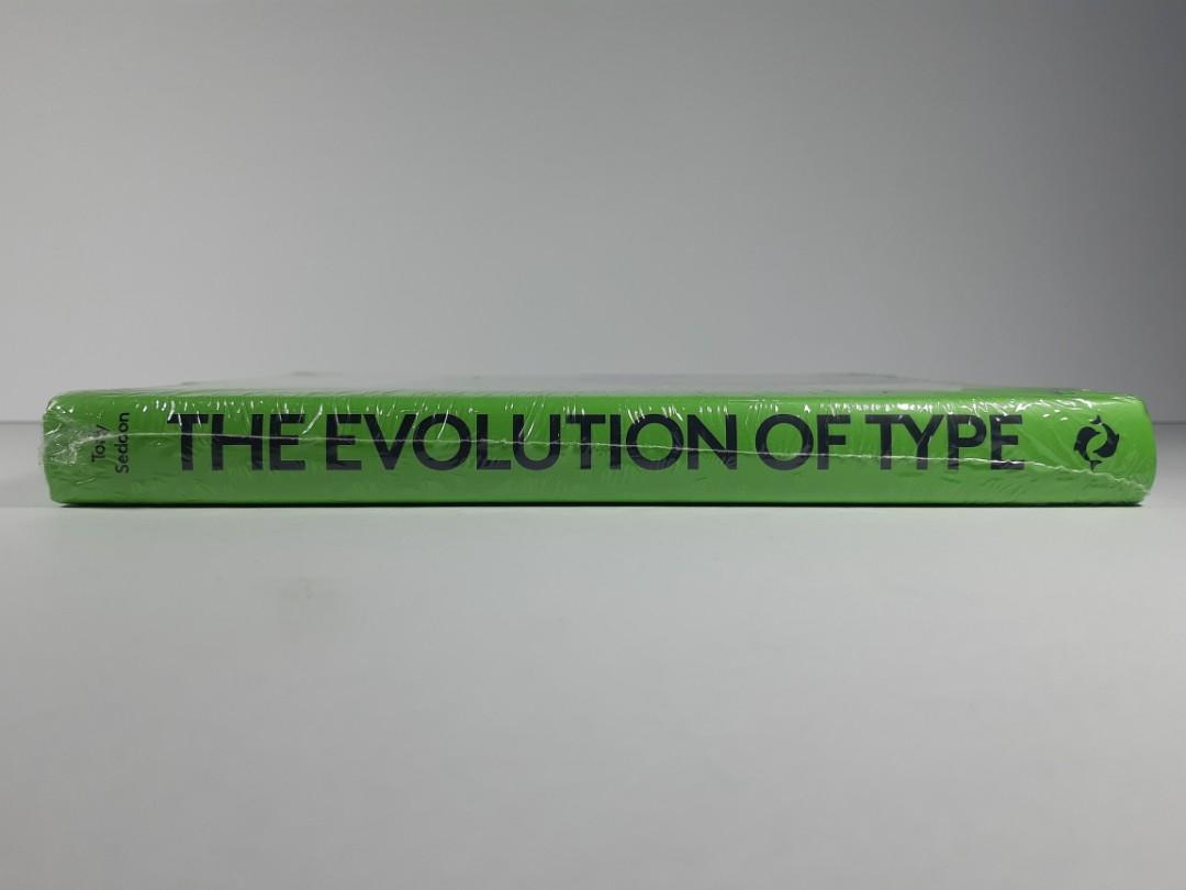 [Book Sale] The Evolution of Type: A Graphic Guide to 100 Landmark Typefaces by Tony Seddon