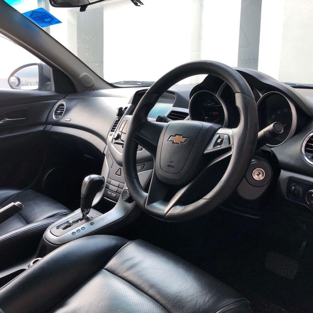 Chevrolet Cruze 1.6A $50 conti car for rent gojek rebate incentive jetta volkswagen golf