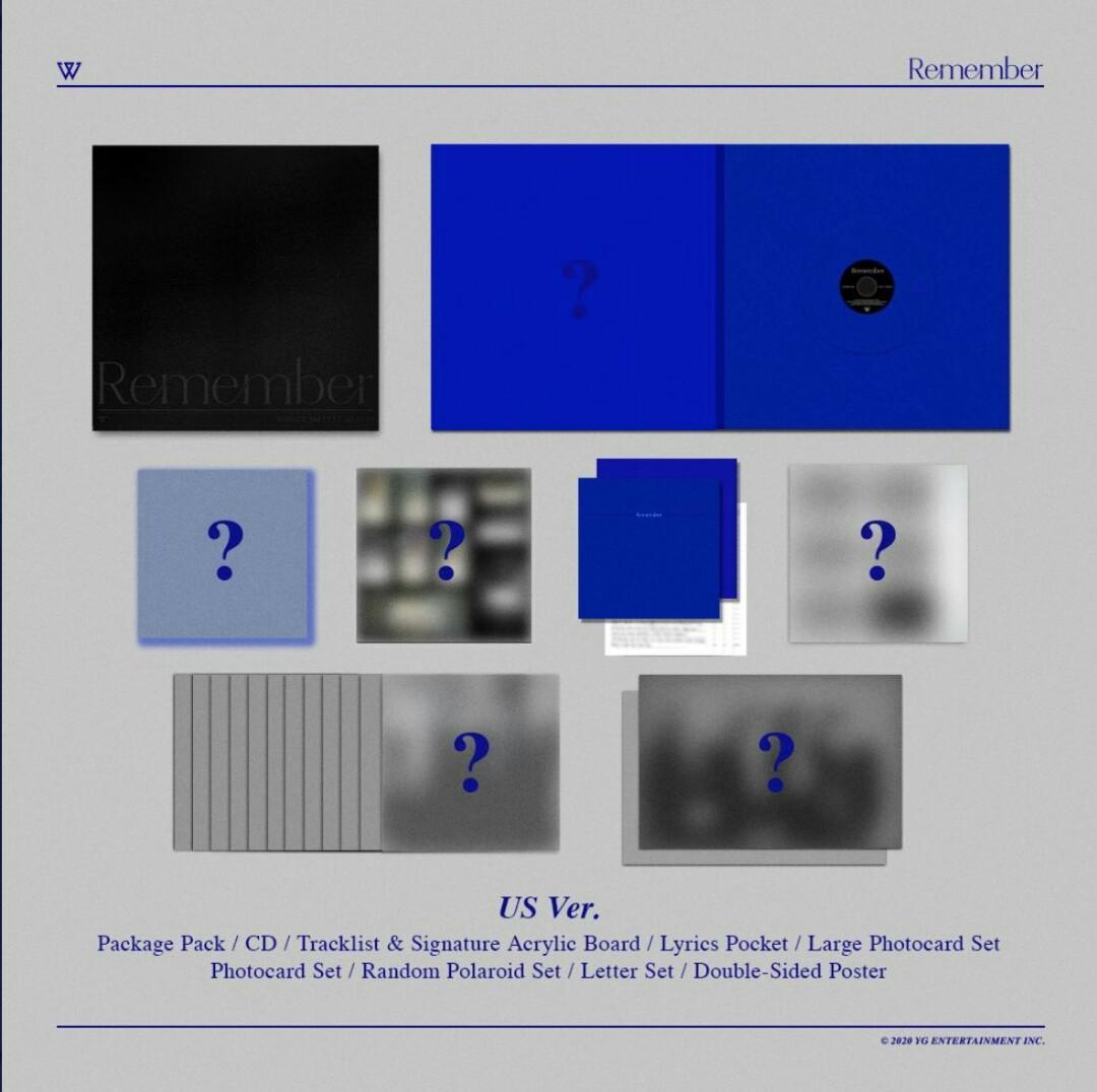 [CHOOSE VER] WINNER 3RD FULL ALBUM - REMEMBER PRE ORDER
