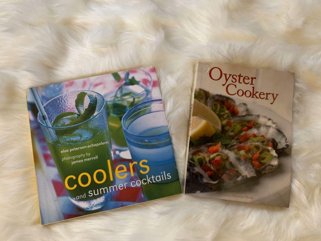Coolers and Summer Cocktails, Oyster Cookery, Superb Brownies, Cakes, and Slices