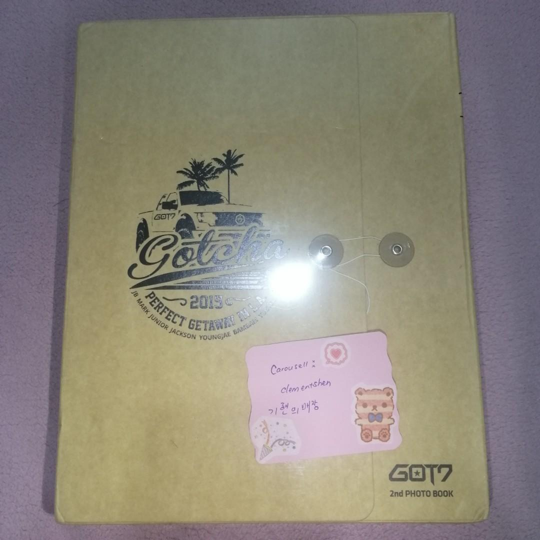 [FREE POSTAGE] [UNSEALED] GOT7 GOTCHA 2015 PERFECT GETAWAY IN L.A.