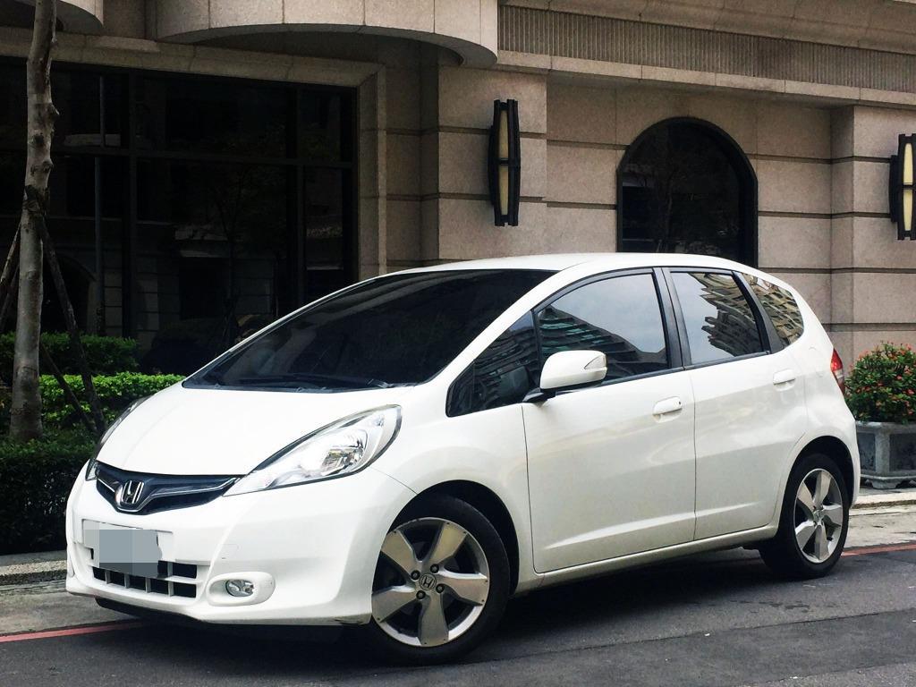 本田魂~HONDA 2013 銷售最好 五門小車 FIT 等級最高 VTI-S 一手車 全車原钣件 原廠保養 只跑6萬公里 10吋安卓機