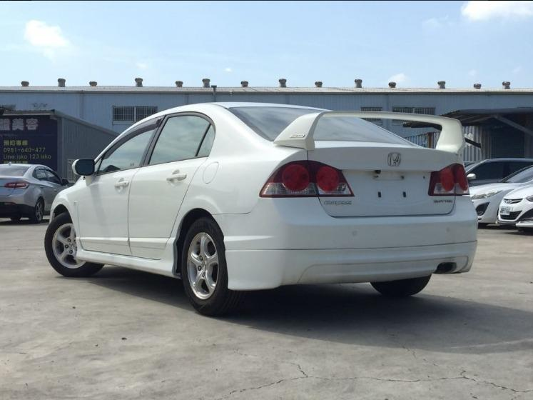 Honda 本田 Civic K12白色 無保人 免頭款 超低月付 3999 起 強力貸款 強力過件