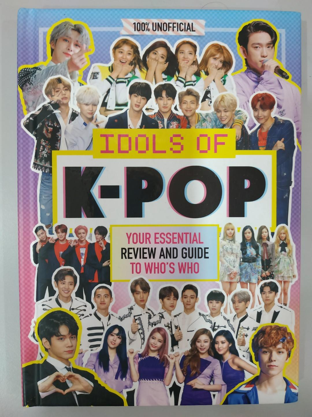 Idols of K-POP (100% Unofficial) - Your Essential Review and Guide to Who's Who