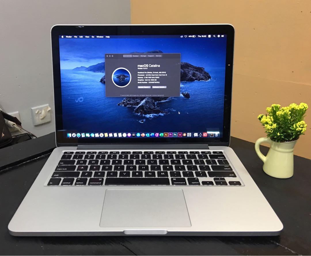 Macbook Pro 1inch Retina MGX1ID Mid 1