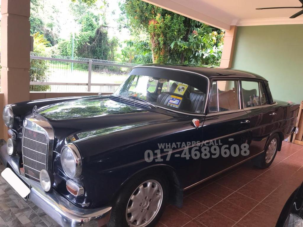 Mercedes-Benz 190 Classic 1963 Antique Model W110