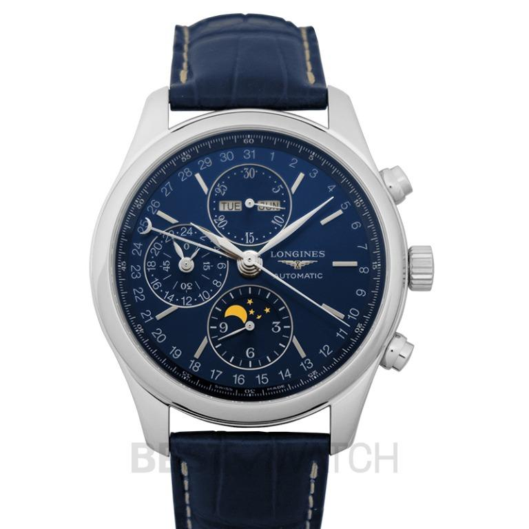 [NEW] Longines The Longines Master Collection Complications Automatic Blue Dial Men's Watch L27734920