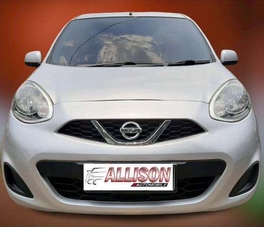 Nissan March 1.2L AT 2013 Silver Dp 7,9 Jt No Pol Genap