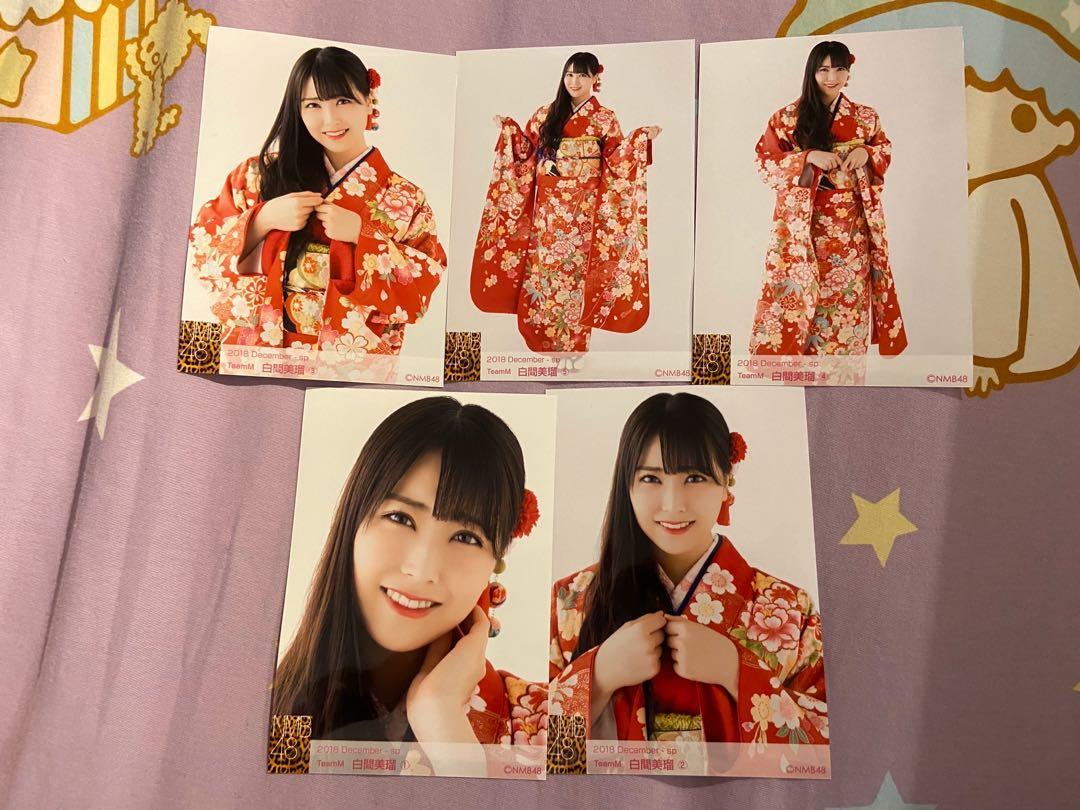 NMB48白間美瑠生寫真