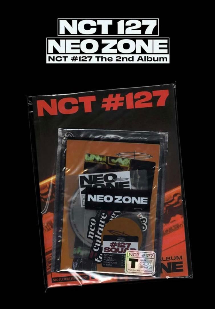 【NON-PROFIT】NCT 127 NEO ZONE T VERSION UNSEALED SMALL G.O