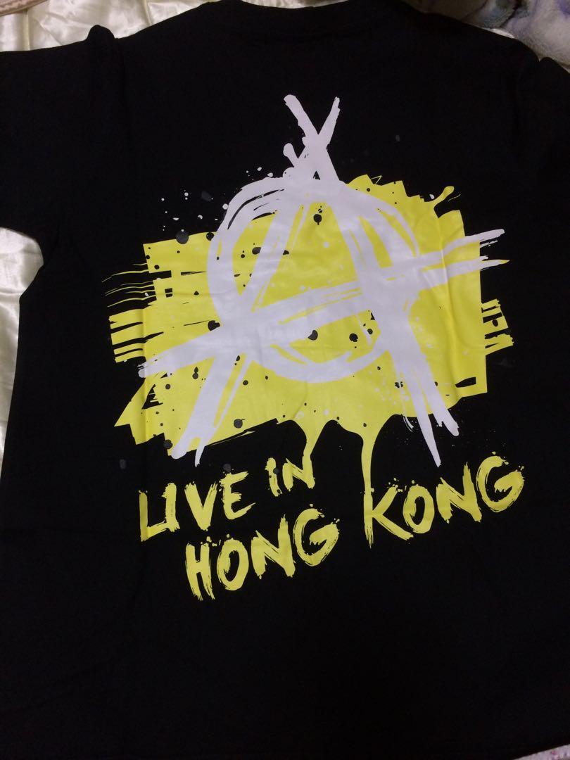 ONE OK ROCK 2018 Ambitions 演唱會紀念品 T-shirts