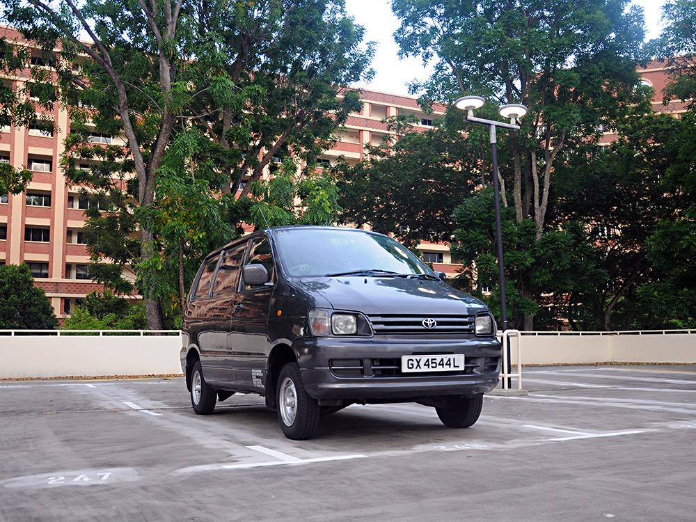 P-plate welcome! - Toyota Liteace diesel cargo van for rent