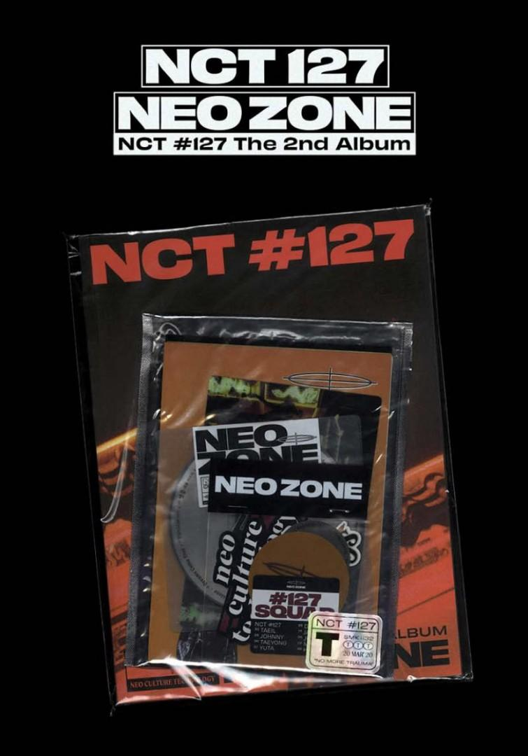 Pre-Order - The 2nd Album 'NCT #127 Neo Zone' (T Ver.