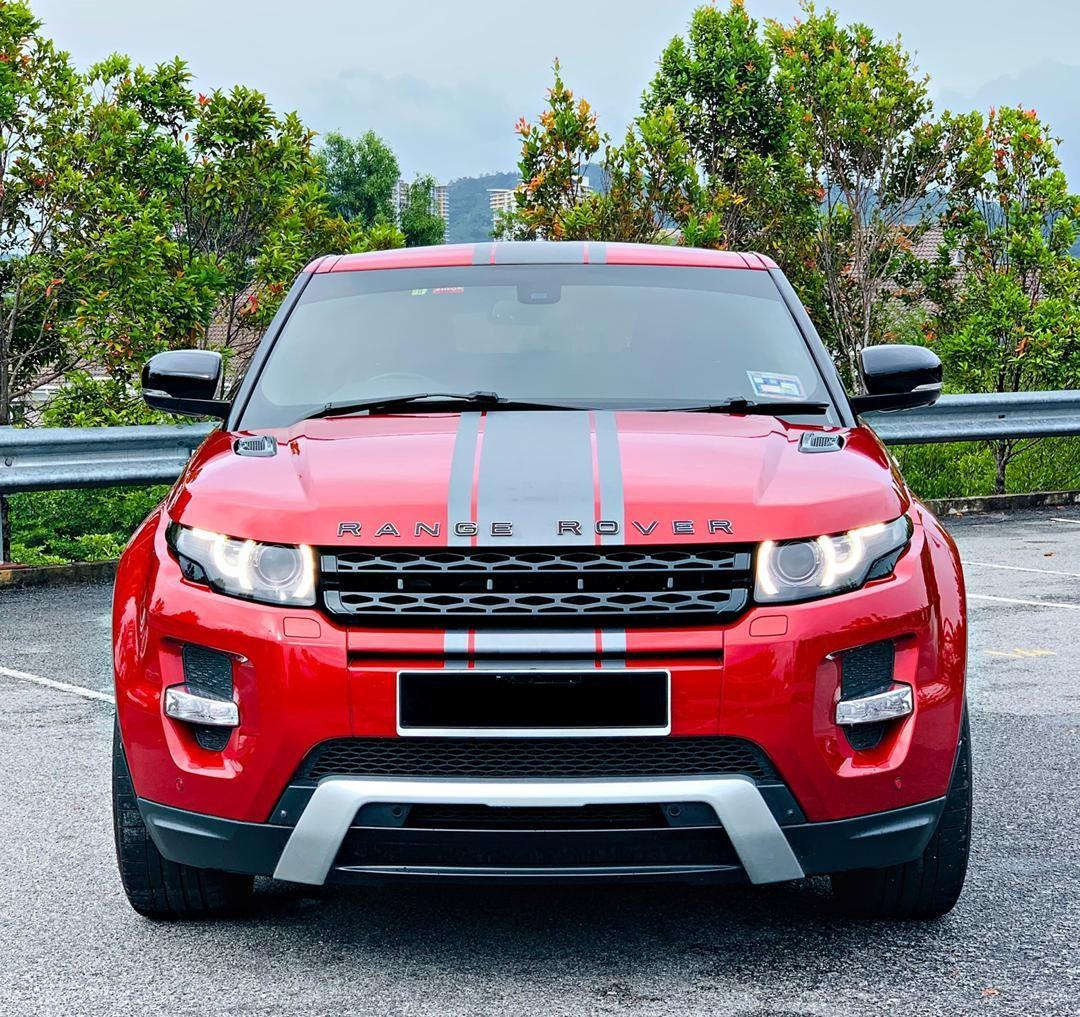 RANGE ROVER EVOQUE  2.0 PETROL AUTO DYNAMIC  2DOORCOUPE SAMBUNG BAYAR BERDEPOSIT/CONTINUE LOAN