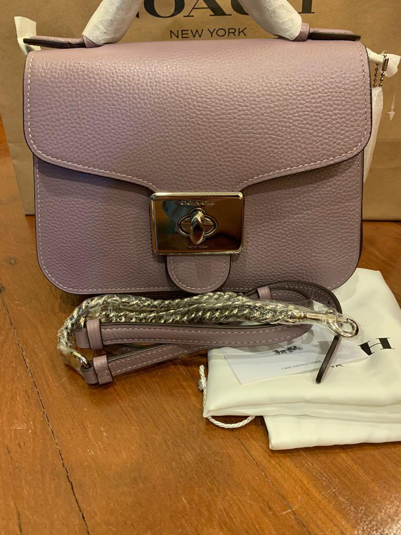 Ready Stock Authentic coach 77897 women sling totes bag