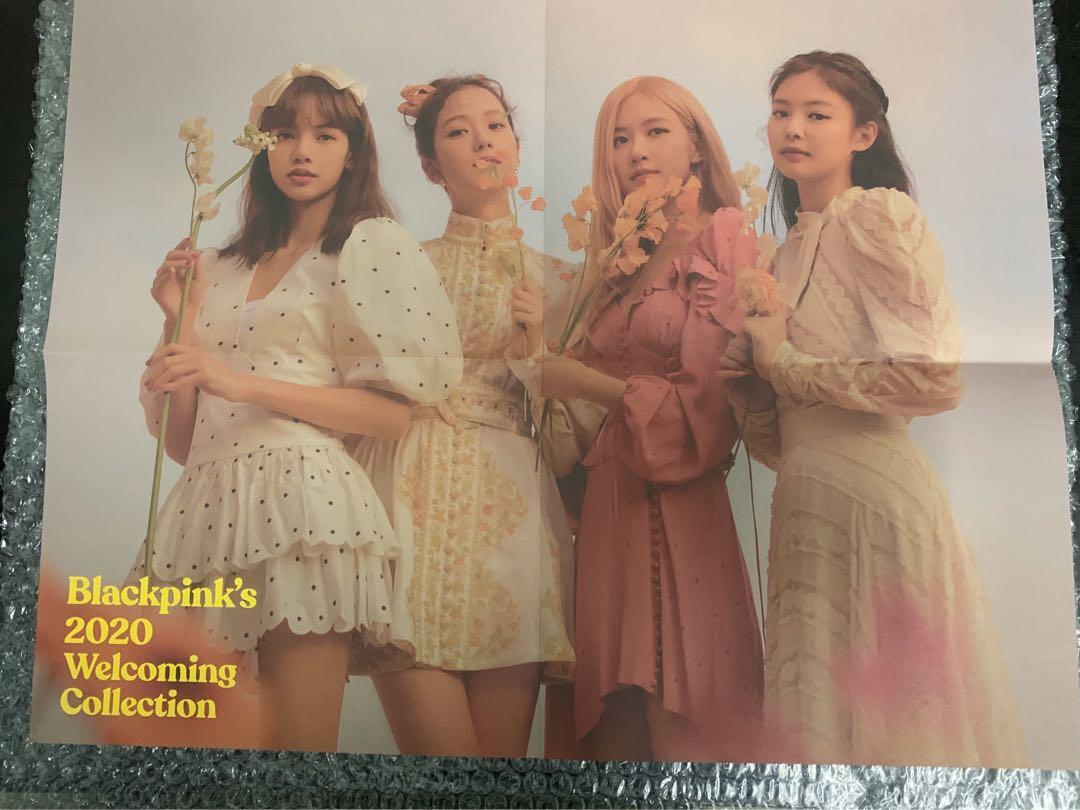 [Ready Stock] Photobook + Poster Blackpink Welcoming Collection 2020